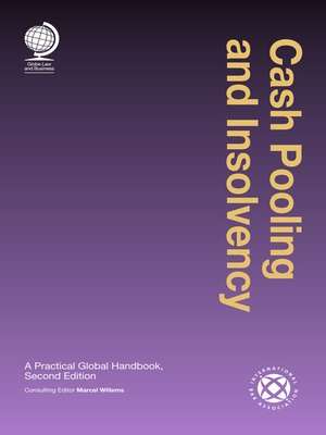 cover image of Cash Pooling and Insolvency