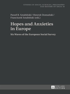 cover image of Hopes and Anxieties in Europe