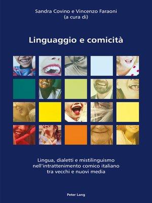 cover image of Linguaggio e comicità