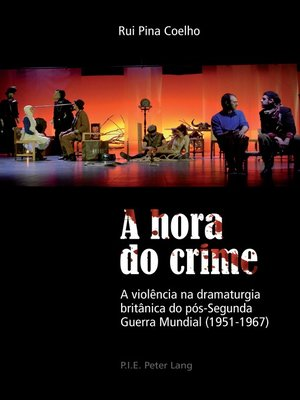 cover image of A hora do crime