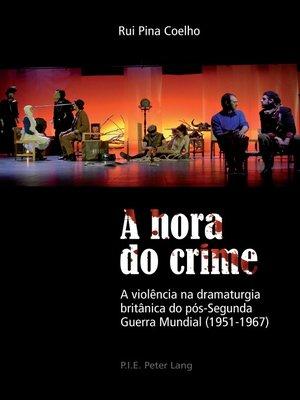 cover image of A hora do crime