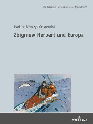 cover image of Zbigniew Herbert und Europa