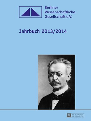 cover image of Jahrbuch 2013/2014