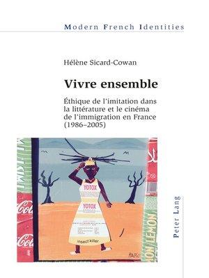 cover image of Vivre ensemble