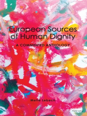cover image of European Sources of Human Dignity