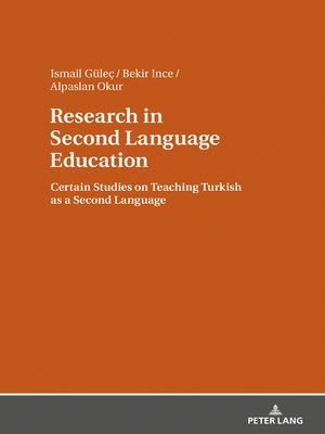 cover image of Research in Second Language Education