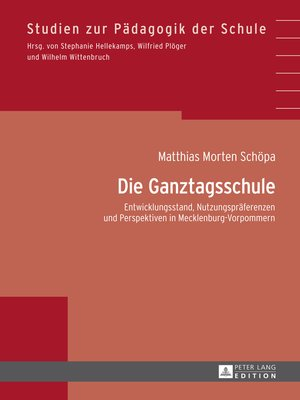 cover image of Die Ganztagsschule