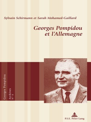 cover image of Georges Pompidou et lAllemagne