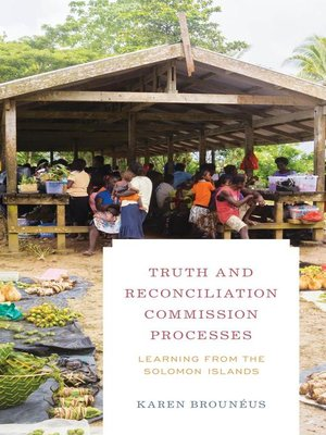 cover image of Truth and Reconciliation Commission Processes