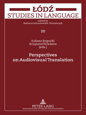 cover image of Perspectives on Audiovisual Translation