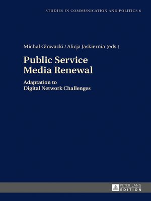 cover image of Public Service Media Renewal