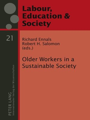 cover image of Older Workers in a Sustainable Society