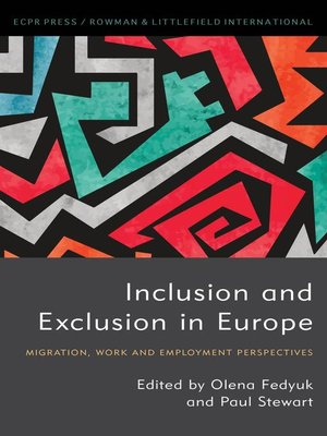 cover image of Inclusion and Exclusion in Europe
