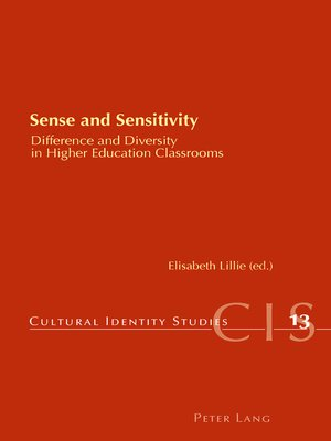 cover image of Sense and Sensitivity