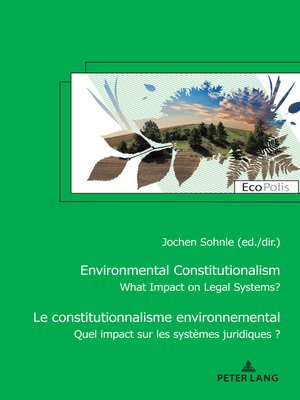 cover image of Le constitutionnalisme environnemental