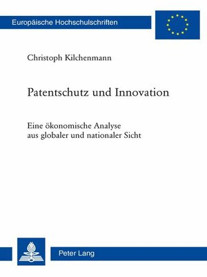 cover image of Patentschutz und Innovation