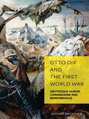 cover image of Otto Dix and the First World War