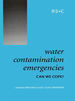 cover image of Water Contamination Emergencies