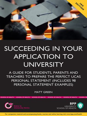cover image of Succeeding in Your Application to University