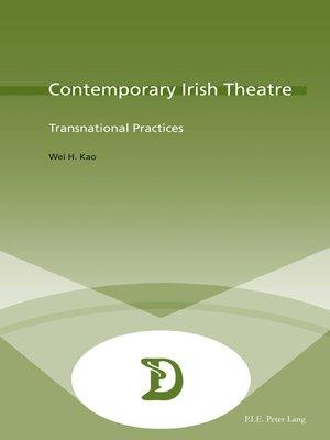 cover image of Contemporary Irish Theatre