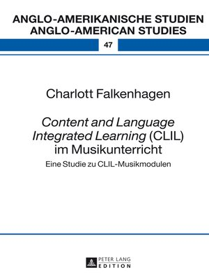 cover image of «Content and Language Integrated Learning» (CLIL) im Musikunterricht