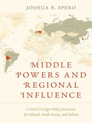 cover image of Middle Powers and Regional Influence
