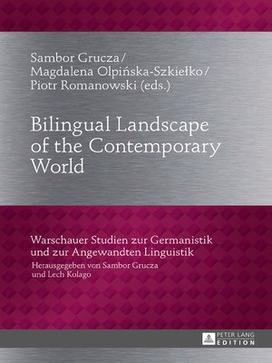 cover image of Bilingual Landscape of the Contemporary World