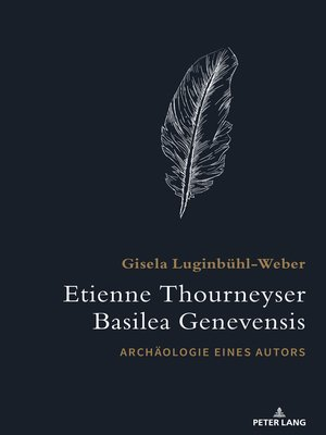 cover image of Etienne Thourneyser Basilea Genevensis