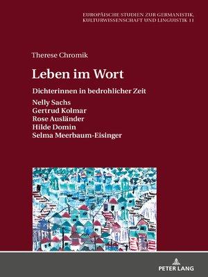 cover image of Leben im Wort