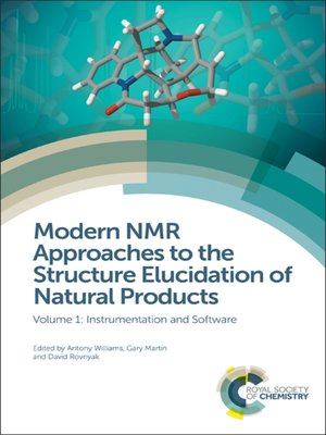 cover image of Modern NMR Approaches to the Structure Elucidation of Natural Products, Volume 1