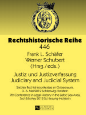 cover image of Justiz und Justizverfassung- Judiciary and Judicial System