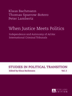 cover image of When Justice Meets Politics