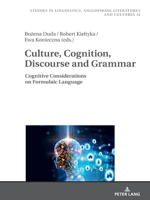 cover image of Culture, Cognition, Discourse and Grammar