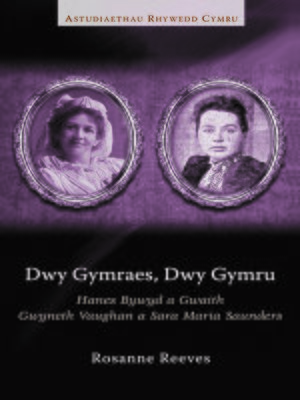 cover image of Dwy Gymraes, Dwy Gymru