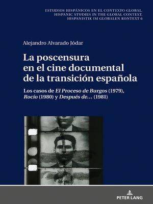 cover image of La poscensura en el cine documental de la transición española