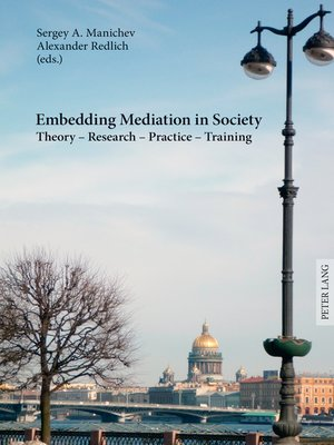 cover image of Embedding Mediation in Society