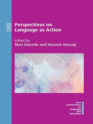 cover image of Perspectives on Language as Action