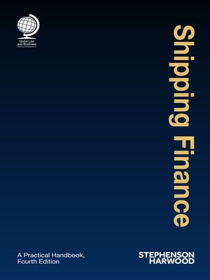 cover image of Shipping Finance
