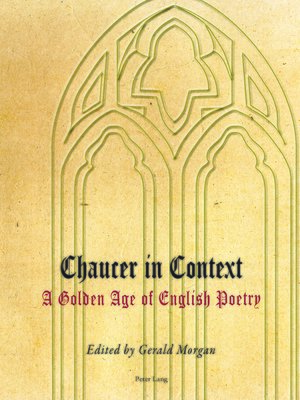 cover image of Chaucer in Context