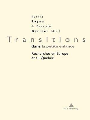 cover image of Transitions dans la petite enfance