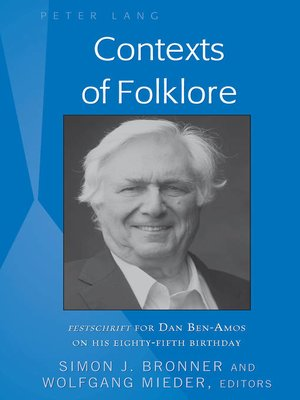 cover image of Contexts of Folklore