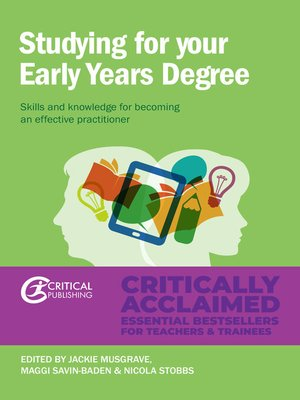 cover image of Studying for Your Early Years Degree