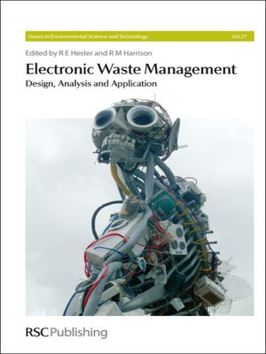cover image of Electronic Waste Management