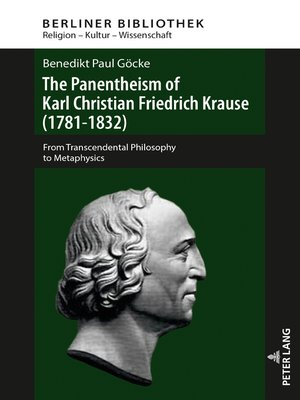 cover image of The Panentheism of Karl Christian Friedrich Krause (1781-1832)