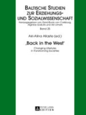 cover image of «Back in the West»