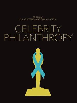 cover image of Celebrity Philanthropy