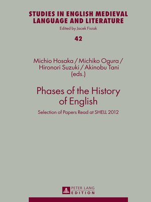 cover image of Phases of the History of English
