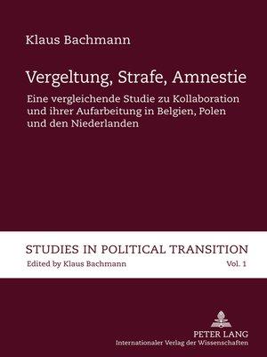 cover image of Vergeltung, Strafe, Amnestie