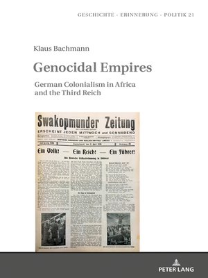 cover image of Genocidal Empires