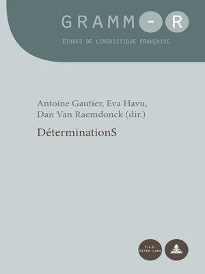 cover image of DéterminationS